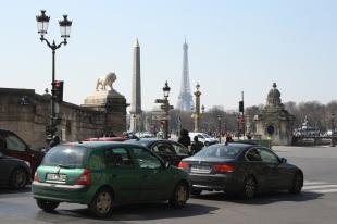 Torre Eiffel y Obelisco, Paris