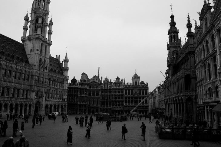 Plaza Mayor, Brusellas