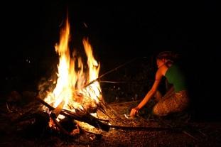 Inma Salazar, encendiendo el fuego, Molina de Segura, 2010