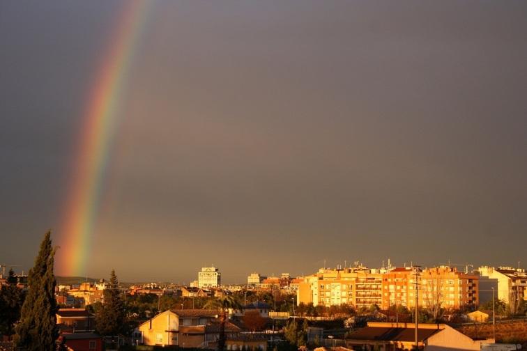 Arcoiris en Murcia