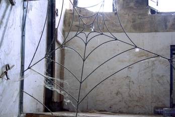 Estudio del artista Jean Guy Lattraye, Valencia, 2011