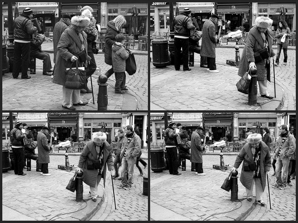 Historia de una fotografía. Músicos en Bruselas, 2013