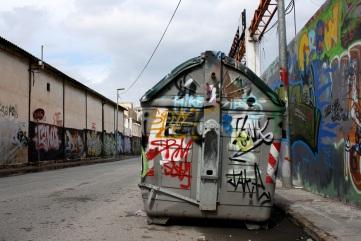 Contenedor Pintado en Murica