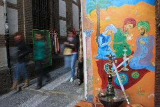 Tetería en el centro de Granada