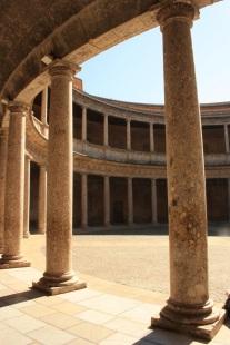 Patio del Palacio de Carlos V