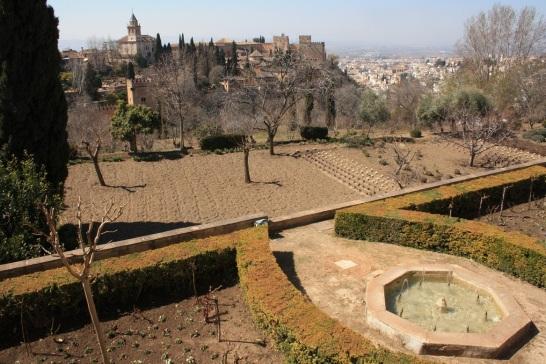 Vista de la ciudad, desde la Alhambra