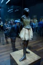 Bailarina de Degas en el Museo de Orsay